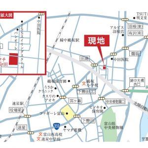 |富山市婦中町分田|2LDK|平屋住宅|消雪有|ファボーレまで車で約5分!|