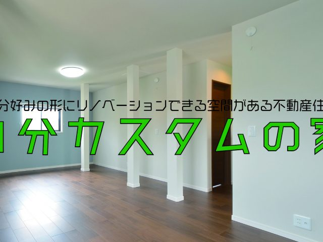 富山市飯野 フルリノベーション物件のサムネイル画像