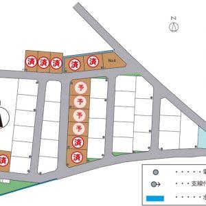富山市五艘 Co.マチ五艘 宅地 建築条件なし 桜谷小学校・富山大学附属学園近く 土地