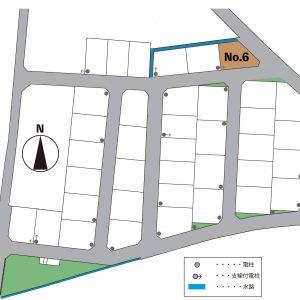 富山市五艘|Co.マチ五艘6号地|宅地|建築条件なし|桜谷小学校・富山大学附属学園近く|土地