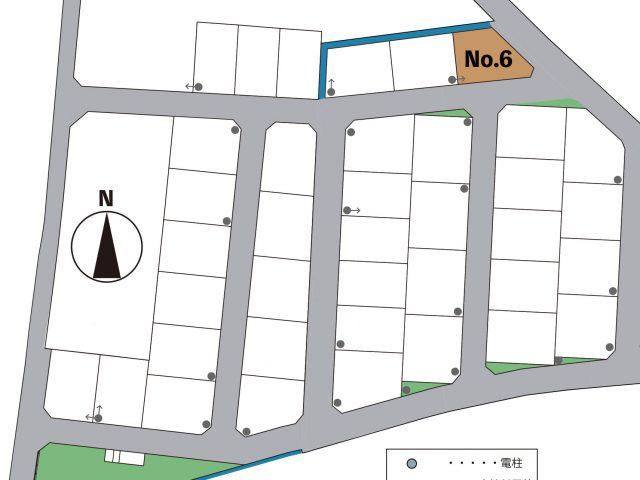 富山市五艘|Co.マチ五艘6号地|宅地|建築条件なし|桜谷小学校・富山大学附属学園近く|土地のサムネイル画像