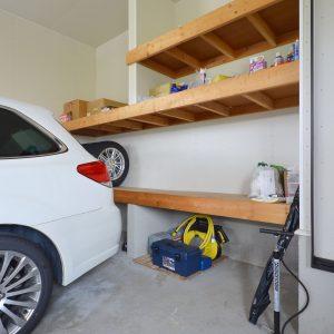 黒部市山田|インナーガレージ|床暖房|駐車4台|