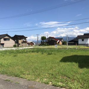 |立山町浅生|宅地|建築条件無し|二方向道路