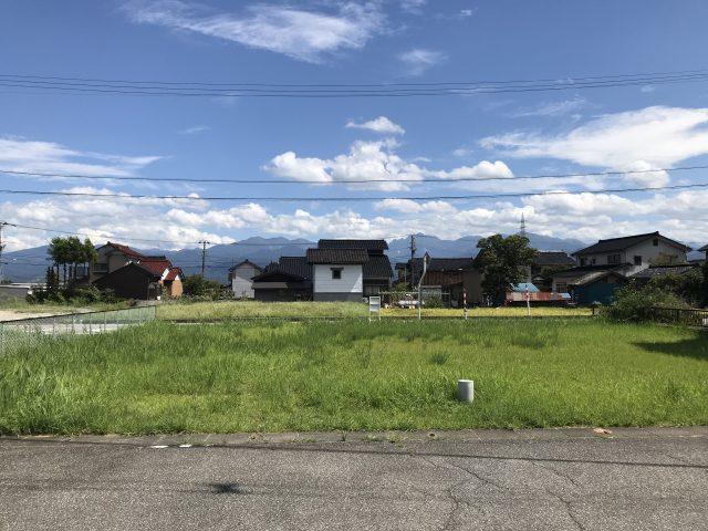 |立山町浅生|宅地|建築条件無し|二方向道路のサムネイル画像