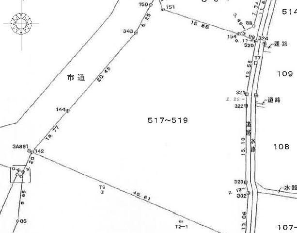  富山市豊若町 約360坪 豊田小学校区 北部中学校区 のサムネイル画像