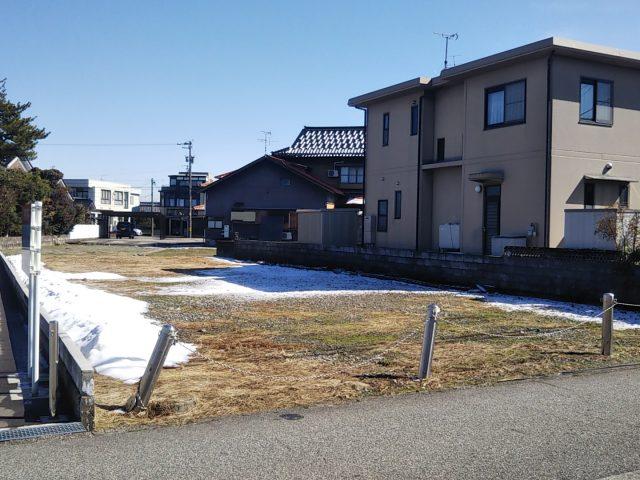 富山市高屋敷|宅地|建築条件なし|のサムネイル画像