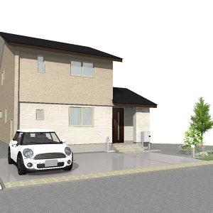 滑川市上小泉にて3LDKの新築不動産住宅を販売中|Co.マチ滑川上小泉F11|プラント3近く