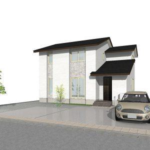 滑川市上小泉の4SLDK・新築不動産住宅を販売中!|Co.マチ滑川上小泉F10|リビングポケットで収納充実