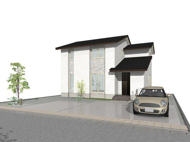 滑川市上小泉の4SLDK・新築不動産住宅を販売中!|Co.マチ滑川上小泉F10|リビングポケットで収納充実のサムネイル画像