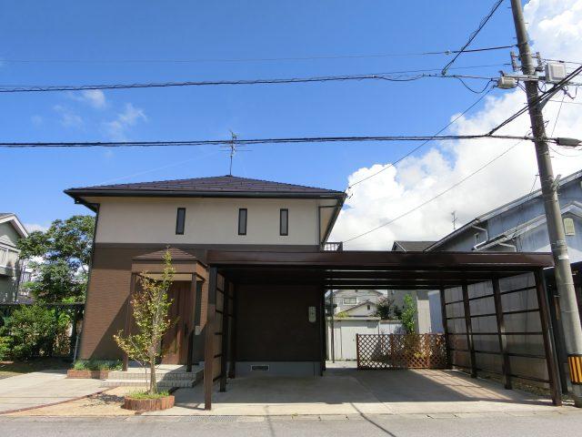 上市町放士ケ瀬新にて4LDKリフォーム住宅を販売開始!|2021年9月リフォーム完了予定|カーポート2台+青空駐車1台分|既存(中古)住宅|のサムネイル画像